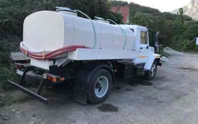 Доставка чистой воды в Алуште водовозом 4 куба - Алушта, цены, предложения специалистов
