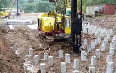 Забивка бетонных свай, услуги сваебоя - Симферополь, цены, предложения специалистов