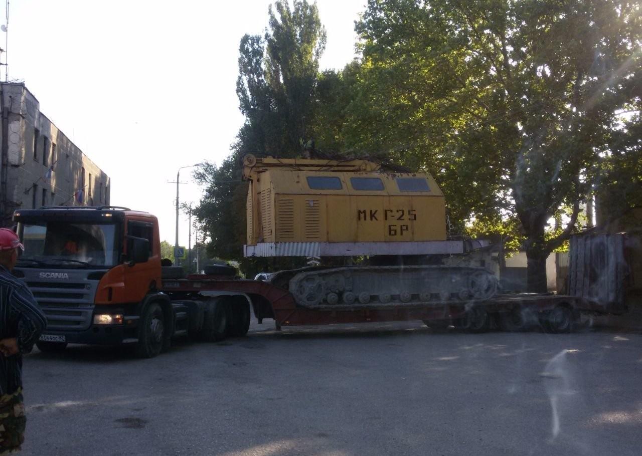 Услуги и заказ тралов перевозка негоборита - Симферополь