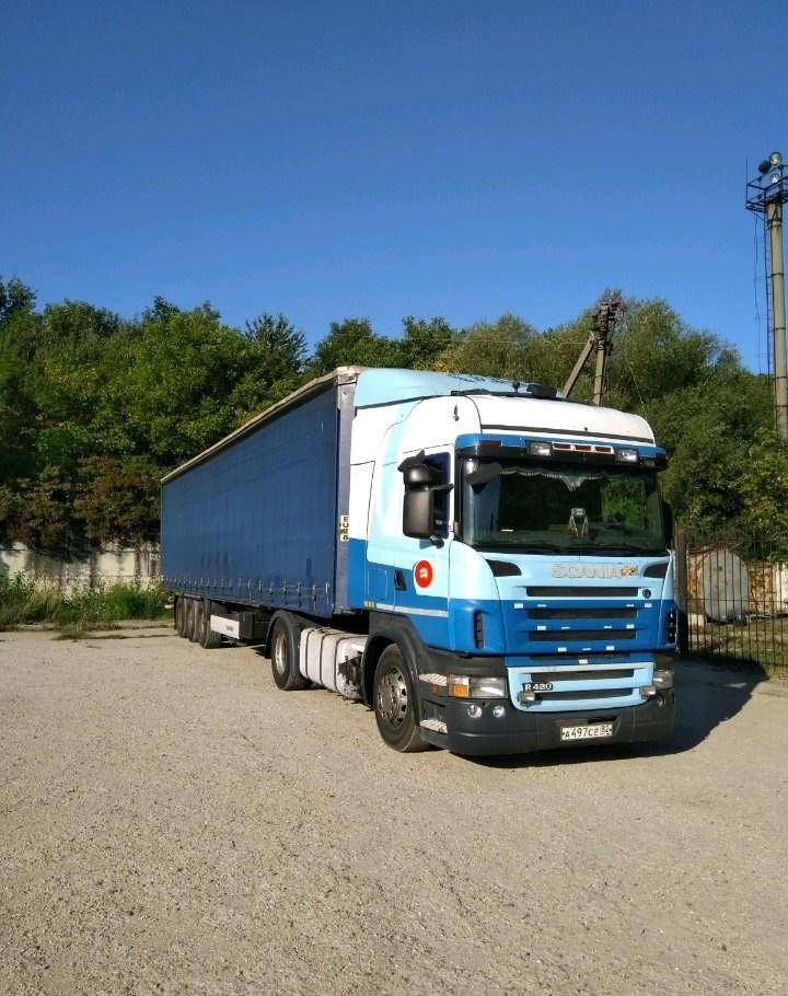 Грузоперевозки фура 20 тонн из Москвы и области в - Симферополь